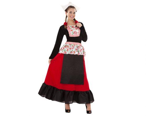 Disfraz de holandesa