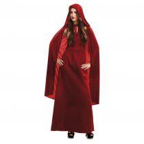 Disfraz de hechicera roja