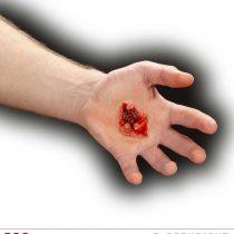 Cicatriz herida de bala /estigma