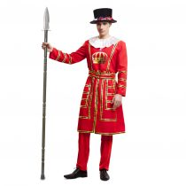 Disfraz Beefeater, Guardia Inglesa