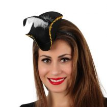 Diadema mini sombrero pirata