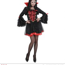 Disfraz vestido de vampira