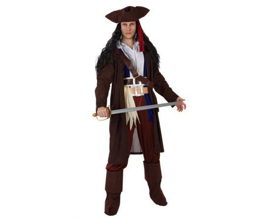 Disfraz Pirata Caribeño para hombre